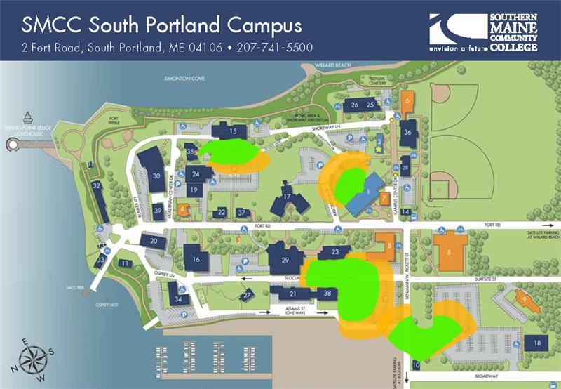 image of South Portland campus